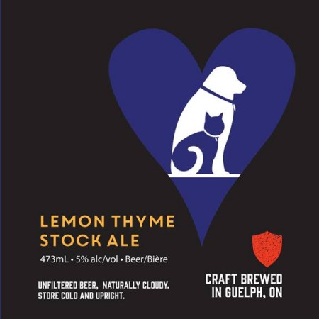 Royal City Brewing Releases Lemon Thyme Stock Ale for Guelph Humane Society