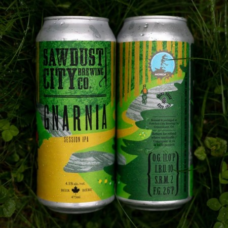 Sawdust City Brewing Releases Gnarnia Session IPA