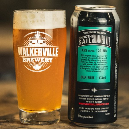 Walkerville Brewery Brings Back Smooth Sail Summer Ale