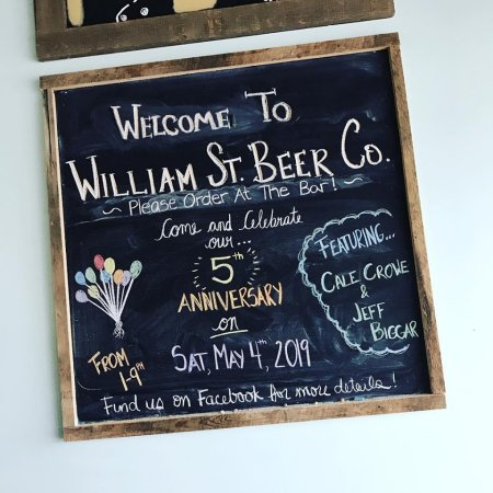 William Street Beer Co. Celebrating 5th Anniversary This Weekend