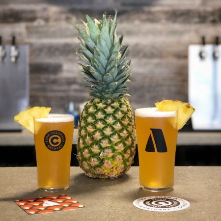 Cabin Brewing and Born Colorado Brewing Release 87 Steps Sour Pineapple NEIPA