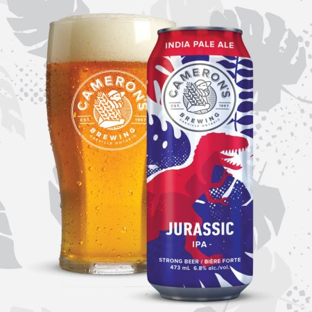 Cameron's Brewing Launches Jurassic IPA