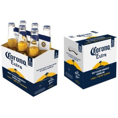 Corona Canada Commits to Plastic-Free Packaging by End of 2019