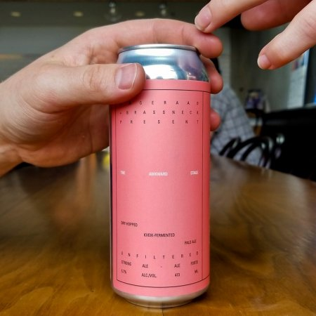 Dageraad Brewing and Brassneck Brewery Release The Awkward Stage Kviek Pale Ale