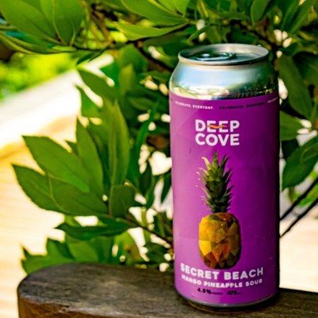 Deep Cove Brewers Releasing Secret Beach Mango Pineapple Sour