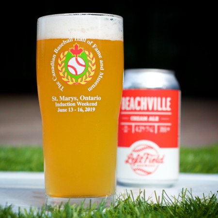 Left Field Brewery & The Canadian Baseball Hall of Fame Release Beachville Cream Ale