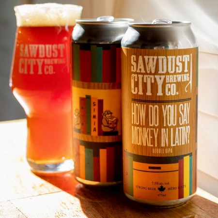 Sawdust City Brewing and MicroBrasserie Charlevoix Releasing How Do You Say Monkey In Latin? Dubbel IPA