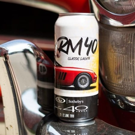Sons of Kent Brewing and RM Sotheby's Releasing RM40 Classic Lager for Retrofest Chatham