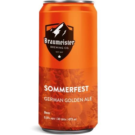 Braumeister Brewing Releases Sommerfest Golden Ale and Brings Back Rheinwasser Kölsch
