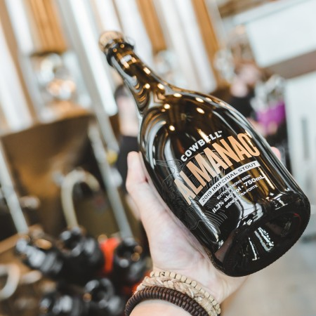 Cowbell Brewing Releasing Almanac 2019 Imperial Stout for 2nd Anniversary