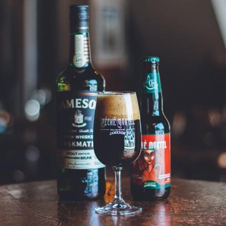Brasserie Dieu du Ciel Releases Péché Mortel Aged in Jameson Irish Whiskey Barrels