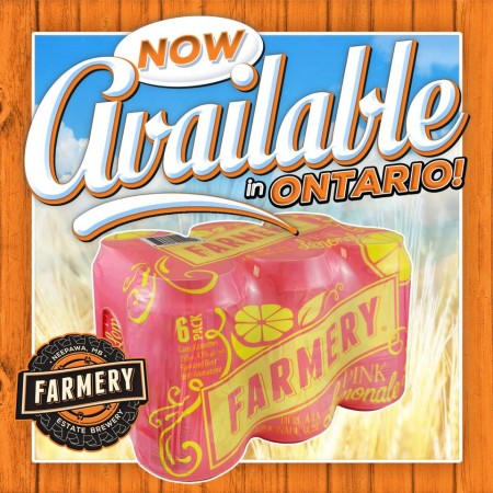 Farmery BreweryPrairie Berry-Ale and Pink Lemonale Now Available in Ontario