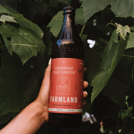 Field House Brewing Continues Farmland Series With Strawberry Tart Saison