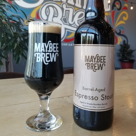 Maybee Brew Co. Releases Maple Bourbon Barrel Aged Elevensies Espresso Stout
