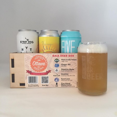 Nita Beer Co. Curates Multi-Brewer Ottawa Craft Beer Mixed Pack for Summer 2019