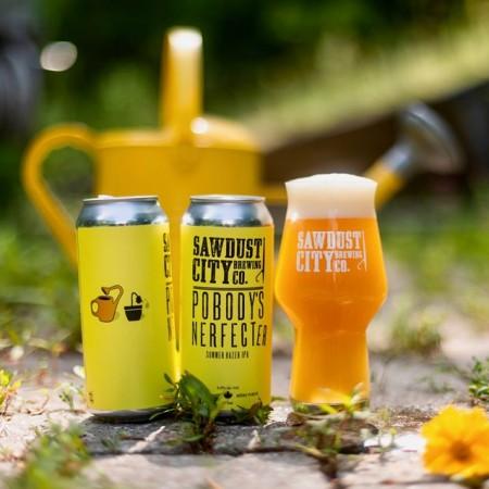 Sawdust City Brewing Releasing Pobody's Nerfecter Summer Hazer IPA
