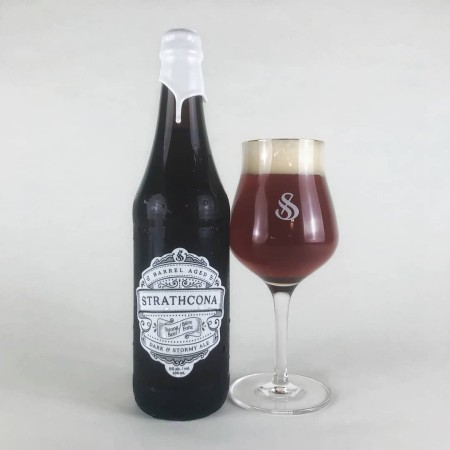 Strathcona Beer Company Barrel Aged Series Continues with Dark & Stormy Ale
