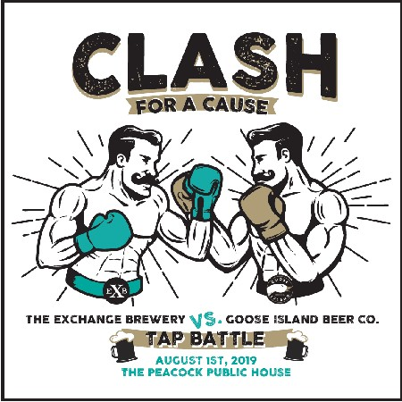 Goose Island Brewhouse and The Exchange Brewery Announce Clash for a Cause Charity Event