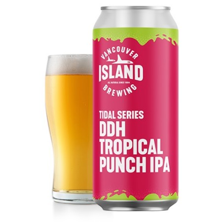 Vancouver Island Brewing Tidal Series Continues with DDH Tropical Punch IPA