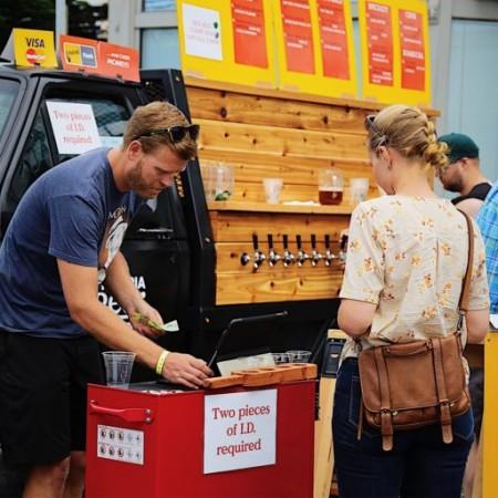 Victoria Beer Society Announces Pop-Up Beer Garden Series in Centennial Park