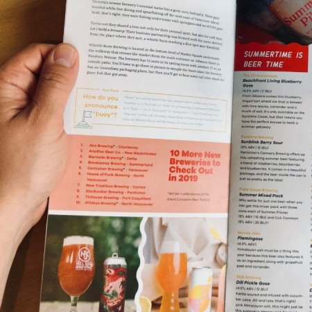 Victoria Beer Society Releases Summer 2019 Issue of Good Beer Gazette