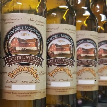 Bushwakker Brewing Releasing Motherwell Barnstormer Red Fife Witbier