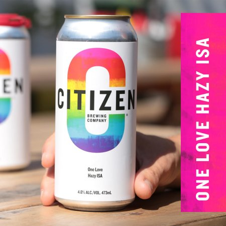 Citizen Brewing Releases One Love Hazy ISA for Calgary Pride