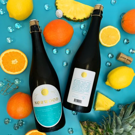 Four Winds Brewing Releases Perzik Table Beer With Peaches and Nørwood Barrel Fermented Farmhouse Ale