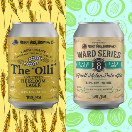 """Muddy York Brewing Releases The """"Olli"""" Unfiltered Lager and Ward 8 Pale Ale"""