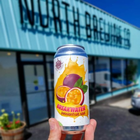 North Brewing Releases Breakwater Passionfruit Sour