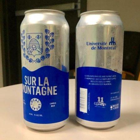 Université de Montréal and Brasserie Onze Comtés Release Sur la Montagne Ale
