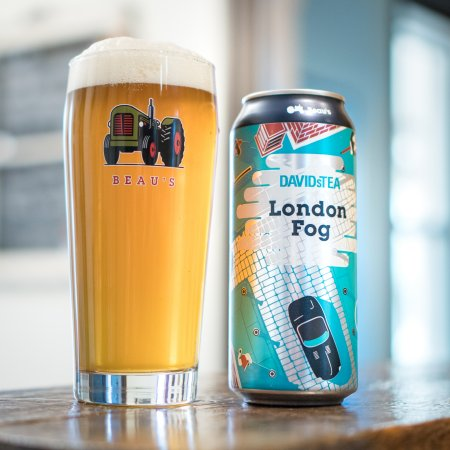 Beau's Brewing and DAVIDsTEA Bring Back London Fog Tea-Infused Ale