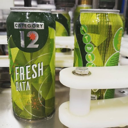 Category 12 Brewing Data Series Continues with Fresh Data Hazy IPA