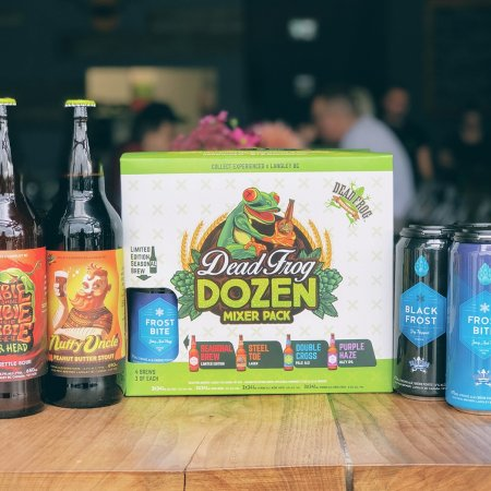 Dead Frog Brewery Releases New Mixer Pack and Seasonal Beers for Fall/Winter 2019-20