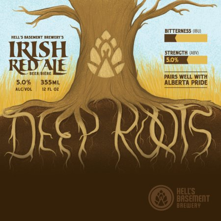 Hell's Basement Brewery Releases Deep Roots Irish Red Ale, Bringing Back Ghost Train Oatmeal Stout