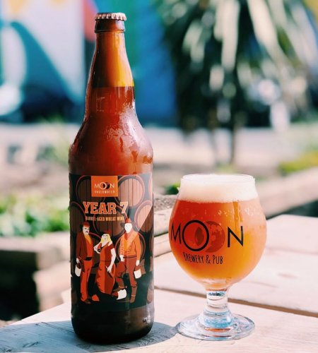 The Moon Under Water Brewery Releases Year 7 Barrel-Aged Wheat Wine