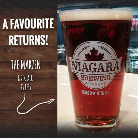 Niagara Brewing Brings Back Marzen