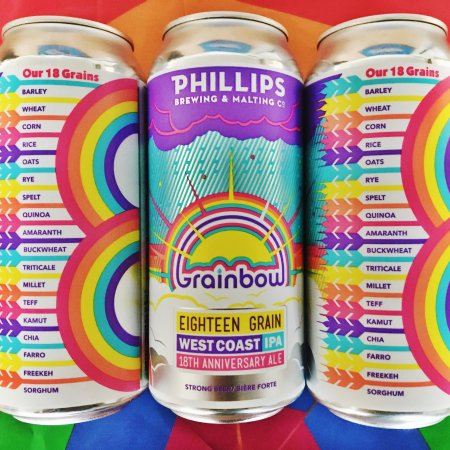 Phillips Brewing Releases Grainbow West Coast IPA for 18th Anniversary