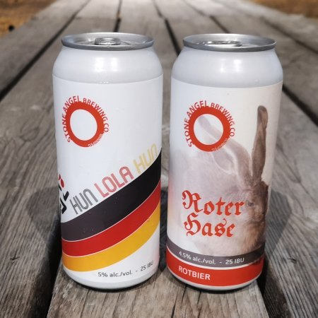 Stone Angel Brewing Releases Hun Lola Hun Köttbusser Ale and Roter Hase Rotbier