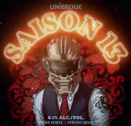 Unibroue & Megadeth Release Saison 13