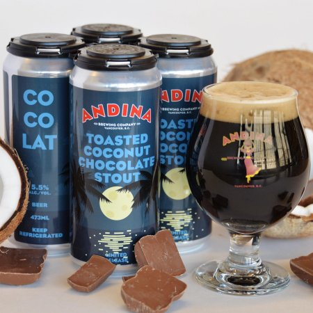 Andina Brewing Releases Cocolat Toasted Coconut Chocolate Stout