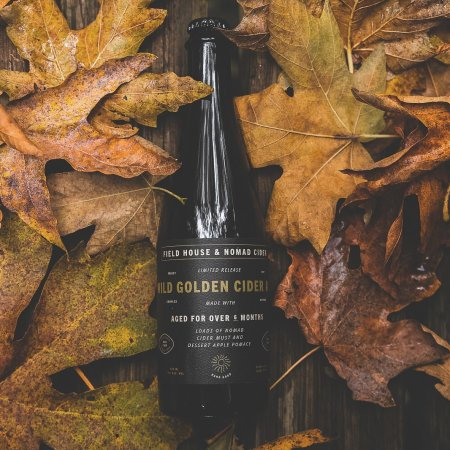 Field House Brewing and Nomad Cider Release Wild Golden Cider Ale