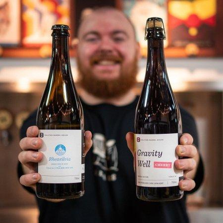 Halcyon Barrel House Releases Rheasilvia Bière de Garde and Gravity Well Cherry