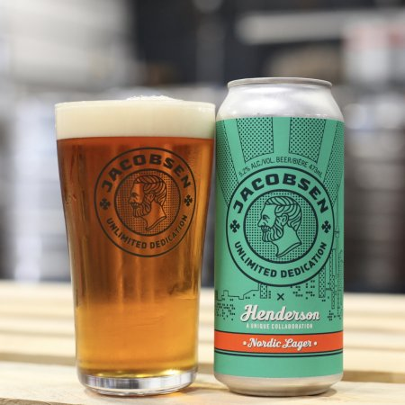 Henderson Brewing and Jacobsen Release Collaborative Nordic Lager