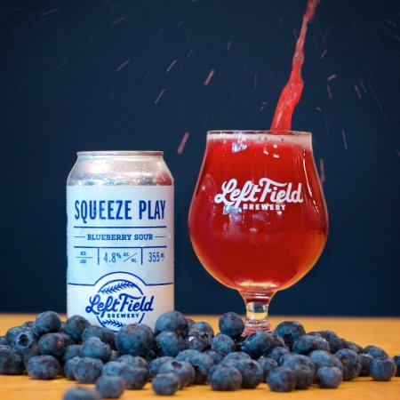 Left Field Brewery Releases Squeeze Play Blueberry Sour
