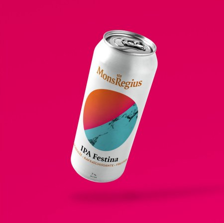 MonsRegius Bières Artisanales IPA Festina Now Available in Cans