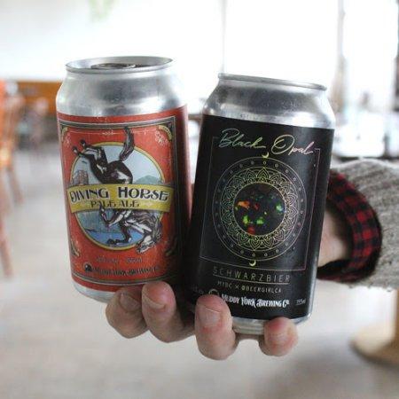 Muddy York Brewing Brings Back Black Opal Schwarzbier and Diving Horse Pale Ale