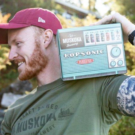 Muskoka Brewery Releases Hopsonic IPA Mixer Pack