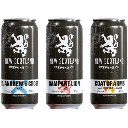 New Scotland Brewing Beers Now Available in Cans