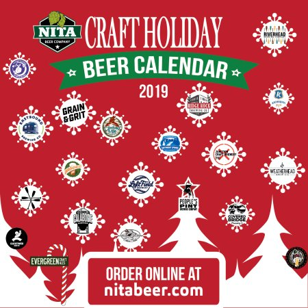Nita Beer Co. Curating 2nd Annual Collaborative Craft Holiday Beer Calendar